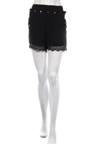 Дамски къс панталон BelAir, Размер M, Цвят Черен, Купро, полиамид, Цена 39,56лв.