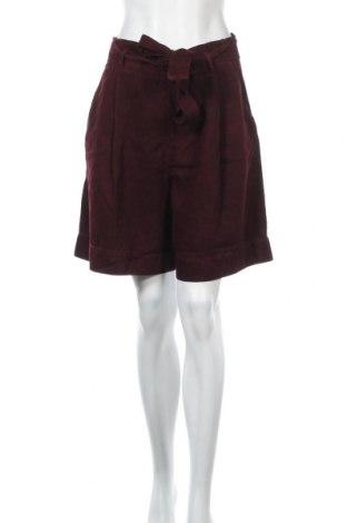 Γυναικείο κοντό παντελόνι Cop.copine, Μέγεθος M, Χρώμα Κόκκινο, Lyocell, Τιμή 32,84€