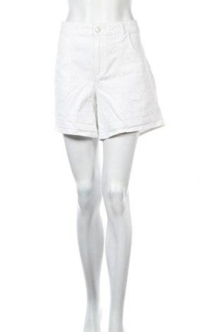 Γυναικείο κοντό παντελόνι Etam, Μέγεθος XL, Χρώμα Λευκό, 97% βαμβάκι, 3% ελαστάνη, Τιμή 10,20€