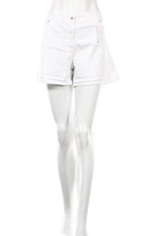 Дамски къс панталон Jacqueline Riu, Размер XL, Цвят Бял, 98% памук, 2% еластан, Цена 15,93лв.