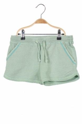 Γυναικείο κοντό παντελόνι Litlle Karl Marc John, Μέγεθος XXS, Χρώμα Πράσινο, Βαμβάκι, Τιμή 13,04€