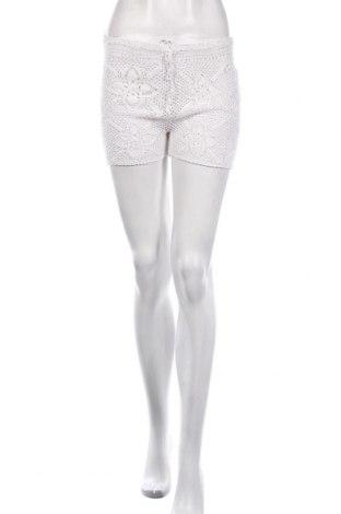 Γυναικείο κοντό παντελόνι Oysho, Μέγεθος S, Χρώμα Λευκό, Βαμβάκι, Τιμή 5,09€