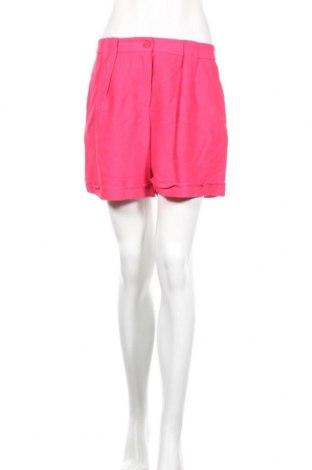Дамски къс панталон TWINSET, Размер S, Цвят Розов, 90% вискоза, 10% полиамид, Цена 83,40лв.