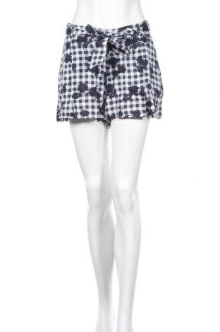 Γυναικείο κοντό παντελόνι Tommy Hilfiger, Μέγεθος M, Χρώμα Μπλέ, Λινό, Τιμή 25,52€