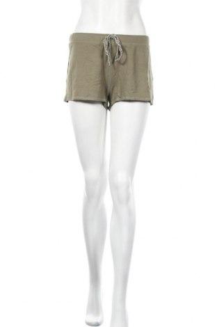 Γυναικείο κοντό παντελόνι Undiz, Μέγεθος XL, Χρώμα Πράσινο, 95% βισκόζη, 5% ελαστάνη, Τιμή 5,94€