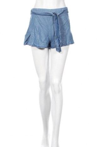 Γυναικείο κοντό παντελόνι Undiz, Μέγεθος M, Χρώμα Μπλέ, Lyocell, Τιμή 10,65€