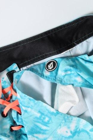 Γυναικείο κοντό παντελόνι Volcom, Μέγεθος S, Χρώμα Μπλέ, Τιμή 22,11€