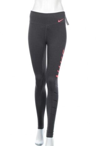 Дамски клин Nike, Размер XS, Цвят Сив, 58% памук, 32% полиестер, 10% еластан, Цена 69,00лв.