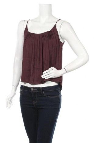 Γυναικείο αμάνικο μπλουζάκι Oysho, Μέγεθος S, Χρώμα Καφέ, Πολυεστέρας, Τιμή 4,98€