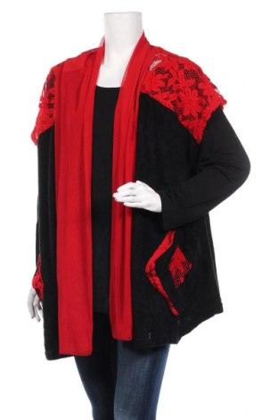 Дамски комплект Pomme Rouge, Размер XL, Цвят Черен, Акрил, полиамид, вискоза, Цена 53,20лв.