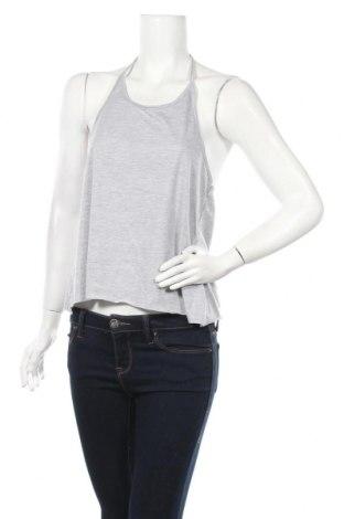 Γυναικείο αμάνικο μπλουζάκι Pretty Summer, Μέγεθος S, Χρώμα Γκρί, 65% πολυεστέρας, 35% βαμβάκι, Τιμή 7,05€