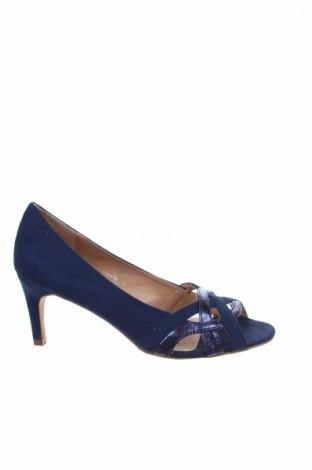 Γυναικεία παπούτσια Camaieu, Μέγεθος 37, Χρώμα Μπλέ, Κλωστοϋφαντουργικά προϊόντα, Τιμή 19,77€