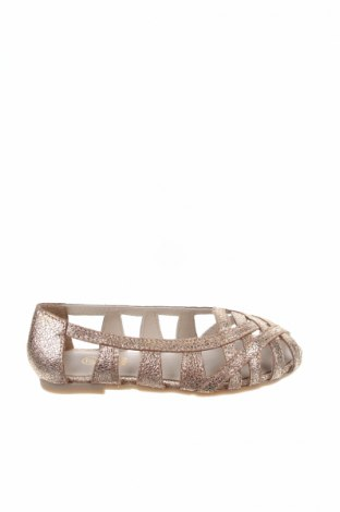 Παιδικά παπούτσια Carrement Beau, Μέγεθος 27, Χρώμα Χρυσαφί, Γνήσιο δέρμα, Τιμή 26,47€