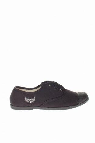 Γυναικεία παπούτσια Kaporal, Μέγεθος 38, Χρώμα Μαύρο, Κλωστοϋφαντουργικά προϊόντα, Τιμή 30,54€
