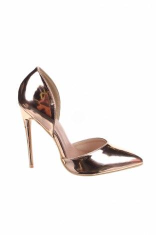 Дамски обувки Lost Ink, Размер 37, Цвят Златист, Еко кожа, Цена 29,67лв.