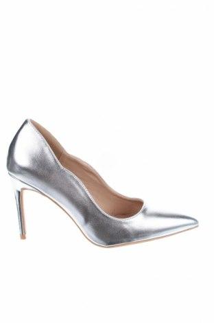 Дамски обувки Lost Ink, Размер 36, Цвят Сребрист, Еко кожа, Цена 21,70лв.