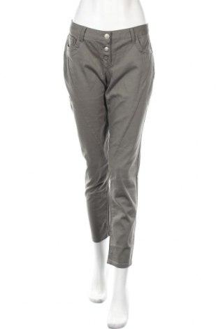 Дамски панталон Aniston, Размер M, Цвят Зелен, 98% памук, 2% еластан, Цена 39,20лв.