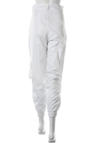 Pantaloni de femei Boohoo, Mărime S, Culoare Alb, Poliester, Preț 108,56 Lei