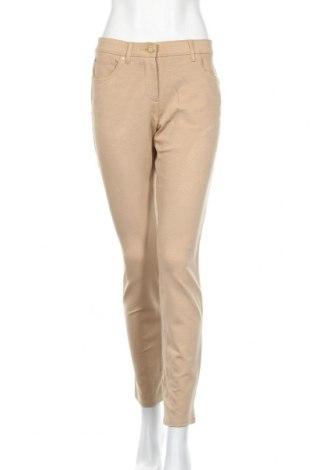 Дамски панталон Chico's, Размер S, Цвят Бежов, 75% вискоза, 21% полиамид, 4% еластан, Цена 18,91лв.