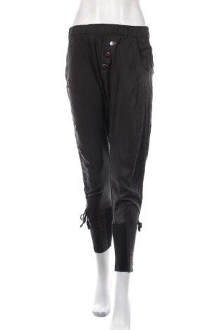 Дамски панталон Cream, Размер S, Цвят Черен, 100% лиосел, Цена 55,47лв.