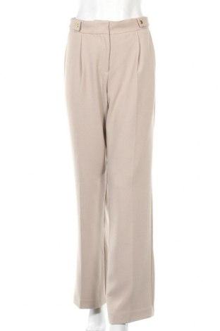Γυναικείο παντελόνι Day Birger Et Mikkelsen, Μέγεθος M, Χρώμα  Μπέζ, 63% πολυεστέρας, 33% βισκόζη, 4% ελαστάνη, Τιμή 31,92€