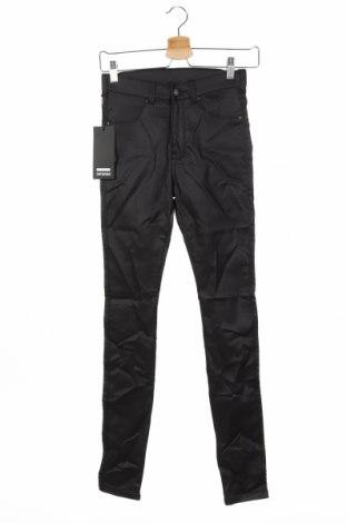 Дамски панталон Dr. Denim, Размер S, Цвят Черен, 77% вискоза, 20% полиамид, 3% еластан, Цена 23,56лв.
