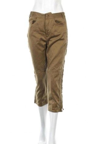 Дамски панталон Isabel Marant, Размер L, Цвят Зелен, Памук, Цена 28,11лв.