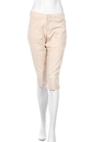 Дамски панталон Janina, Размер M, Цвят Бежов, Памук, Цена 6,50лв.