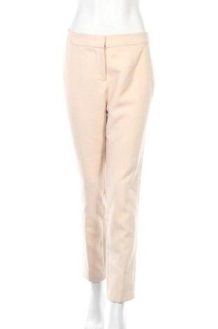 Γυναικείο παντελόνι Manoukian, Μέγεθος M, Χρώμα  Μπέζ, 91% πολυεστέρας, 8% βισκόζη, 1% ελαστάνη, Τιμή 25,29€