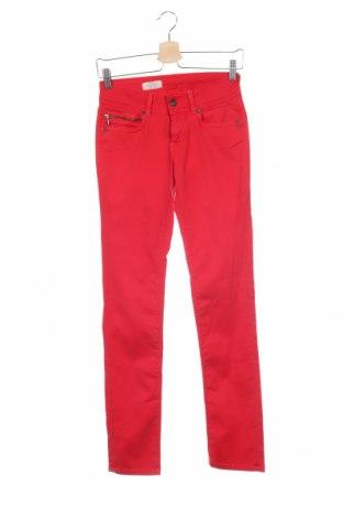 Γυναικείο παντελόνι Pepe Jeans, Μέγεθος XS, Χρώμα Κόκκινο, 99% βαμβάκι, 1% ελαστάνη, Τιμή 21,96€