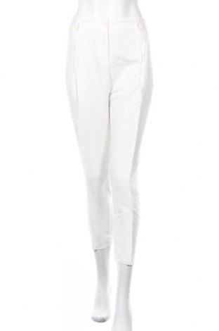 Дамски панталон TWINSET, Размер L, Цвят Бял, 90% вискоза, 10% полиамид, Цена 122,85лв.