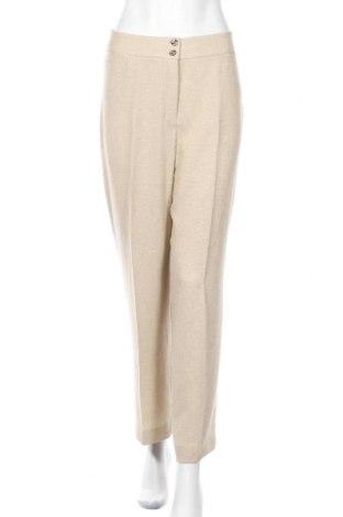 Дамски панталон Un Jour Ailleurs, Размер L, Цвят Бежов, Полиестер, Цена 20,64лв.