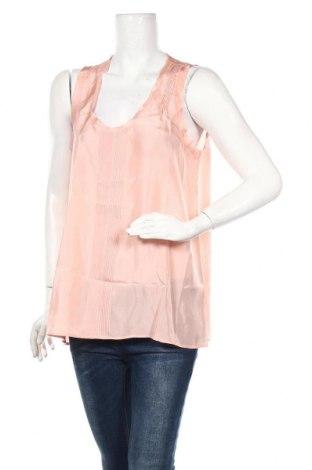 Γυναικείο αμάνικο μπλουζάκι Armand Ventilo, Μέγεθος L, Χρώμα Ρόζ , Μετάξι, Τιμή 38,56€