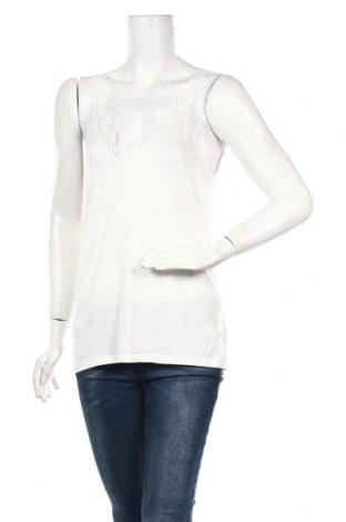 Γυναικείο αμάνικο μπλουζάκι Best Mountain, Μέγεθος M, Χρώμα Εκρού, Βισκόζη, πολυαμίδη, ελαστάνη, Τιμή 5,20€