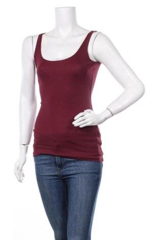 Γυναικείο αμάνικο μπλουζάκι Boysen's, Μέγεθος XS, Χρώμα Βιολετί, Βαμβάκι, Τιμή 6,43€
