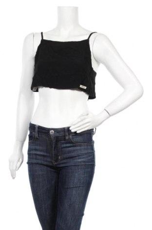 Γυναικείο αμάνικο μπλουζάκι Double Agent, Μέγεθος XS, Χρώμα Μαύρο, Βισκόζη, Τιμή 4,93€