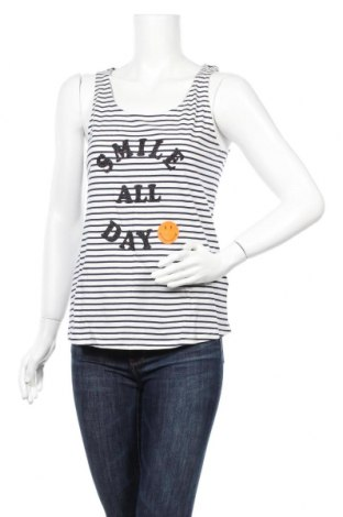 Γυναικείο αμάνικο μπλουζάκι Etam, Μέγεθος M, Χρώμα Λευκό, Βαμβάκι, Τιμή 7,54€