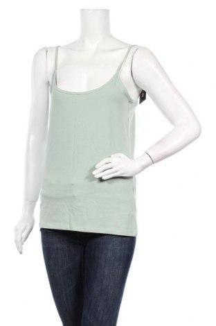Γυναικείο αμάνικο μπλουζάκι Etam, Μέγεθος L, Χρώμα Πράσινο, 95% βαμβάκι, 5% ελαστάνη, Τιμή 7,54€