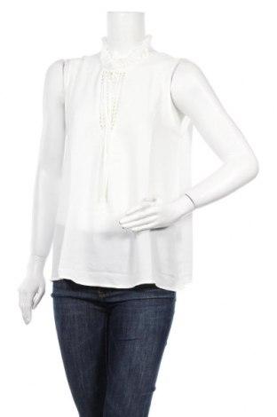 Γυναικείο αμάνικο μπλουζάκι Famous, Μέγεθος M, Χρώμα Λευκό, 100% πολυεστέρας, Τιμή 11,69€