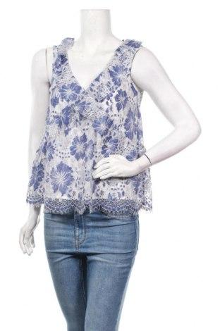 Γυναικείο αμάνικο μπλουζάκι French Connection, Μέγεθος XS, Χρώμα Μπλέ, 45% πολυεστέρας, 38% πολυαμίδη, 17% βαμβάκι, Τιμή 13,44€