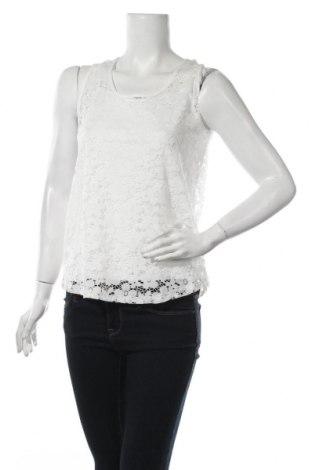 Γυναικείο αμάνικο μπλουζάκι Jacqueline De Yong, Μέγεθος S, Χρώμα Λευκό, 92% πολυαμίδη, 8% ελαστάνη, Τιμή 7,48€