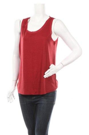 Γυναικείο αμάνικο μπλουζάκι Jacqueline De Yong, Μέγεθος M, Χρώμα Κόκκινο, 67% lyocell, 33% βαμβάκι, Τιμή 7,48€