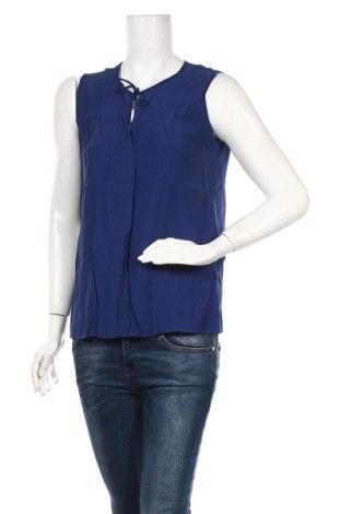 Γυναικείο αμάνικο μπλουζάκι Jacqueline De Yong, Μέγεθος M, Χρώμα Μπλέ, Βισκόζη, Τιμή 7,48€