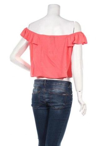 Дамска блуза Jennyfer, Размер L, Цвят Розов, 97% полиестер, 3% еластан, Цена 7,82лв.