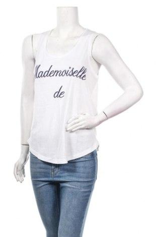 Γυναικείο αμάνικο μπλουζάκι Kookai, Μέγεθος M, Χρώμα Λευκό, 50% βαμβάκι, 50% μοντάλ, Τιμή 4,62€