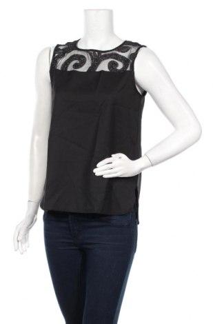 Γυναικείο αμάνικο μπλουζάκι La Fee Maraboutee, Μέγεθος M, Χρώμα Μαύρο, 96% πολυεστέρας, 4% ελαστάνη, Τιμή 13,44€
