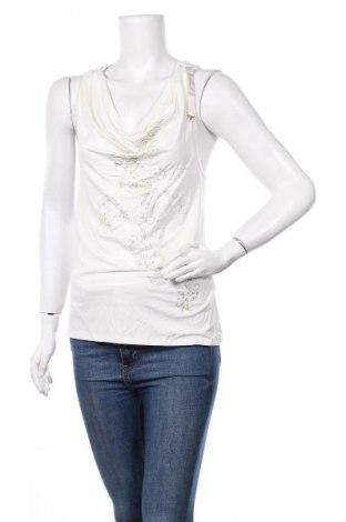 Γυναικείο αμάνικο μπλουζάκι La Mode Est A Vous, Μέγεθος M, Χρώμα Λευκό, 92% βισκόζη, 8% ελαστάνη, Τιμή 7,09€
