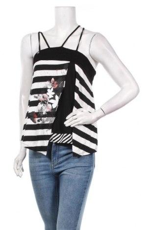 Γυναικείο αμάνικο μπλουζάκι La Mode Est A Vous, Μέγεθος S, Χρώμα Πολύχρωμο, 95% βισκόζη, 1% πολυαμίδη, 1% πολυεστέρας, 3% ελαστάνη, Τιμή 7,09€