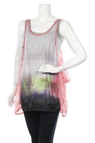 Γυναικείο αμάνικο μπλουζάκι La Mode Est A Vous, Μέγεθος S, Χρώμα Πολύχρωμο, Βισκόζη, πολυαμίδη, πολυεστέρας, ελαστάνη, Τιμή 6,43€