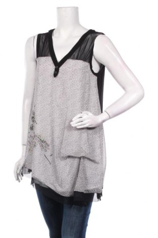Γυναικείο αμάνικο μπλουζάκι La Mode Est A Vous, Μέγεθος M, Χρώμα Λευκό, Τιμή 7,54€